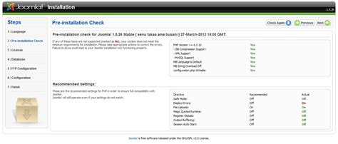 membuat website joomla di localhost membuat website localhost menggunakan xp dan joomla