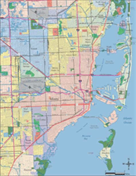 zip code map kendall florida miami digital vector maps download editable illustrator