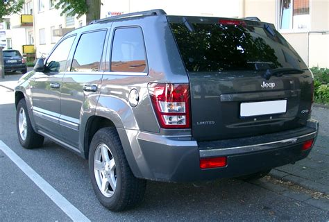 jeep grand cherokee back file jeep grand cherokee rear 20070518 jpg wikimedia commons