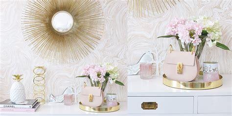 schminktisch deko schminktisch deko in pastell wei 223 und gold instashop