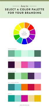 color brand how to select a color palette for your branding spruce rd