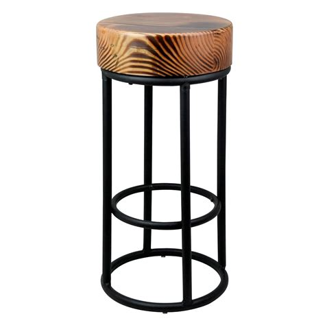 commercial metal bar stools metal industrial black bar stool la maison chic