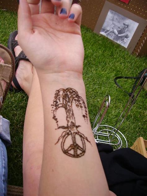 hannikate peace sign tattoo designs