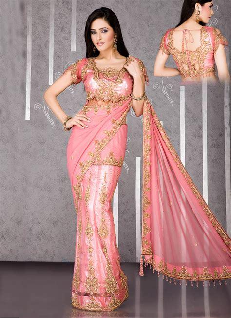saree net blouse designs net sarees blouse designs