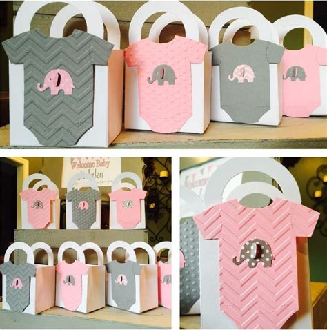 And Baby Shower by Baby Shower Elefantes Rosa Y Gris Dale Detalles