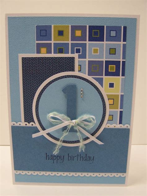 Handmade Birthday Cards For Boys - handmade greeting card baby s birthday card boy s
