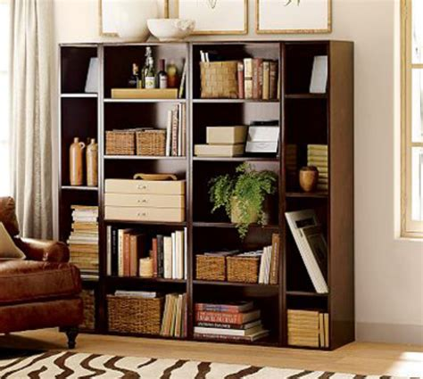 top of bookshelves decorate a bookcase with other