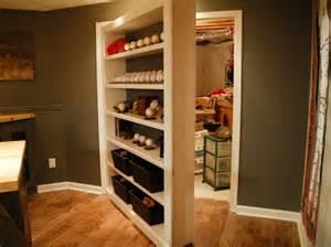 Storage Closet Doors Secret Bookcase Door For Storage Closet Stashvault