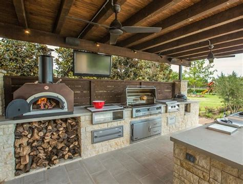 outdoors kitchens designs 25 best ideas about outdoor cooking area on pinterest