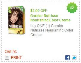 garnier nutrisse hair color coupon garnier printable coupons my