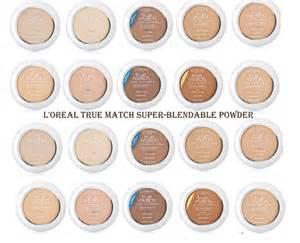 true match foundation colors l oreal true match blendable powder choose your