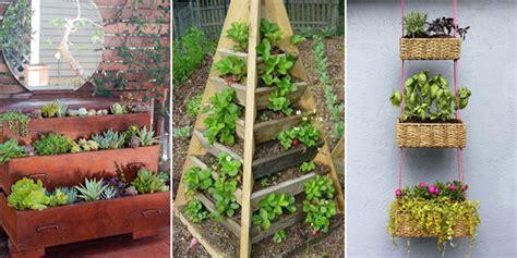 creative space saving gardening ideas