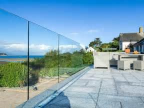 Patio Handrail Infinity Glass Balustrade Bespoke Glass Balustrades
