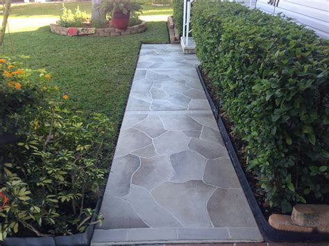 concrete designs florida driveway staining