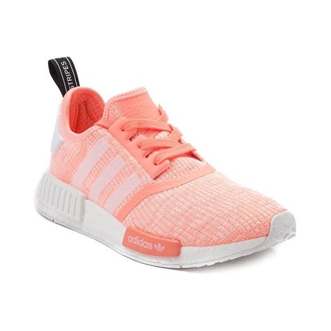 adidas womens athletic shoes womens adidas nmd r1 athletic shoe pink 436327