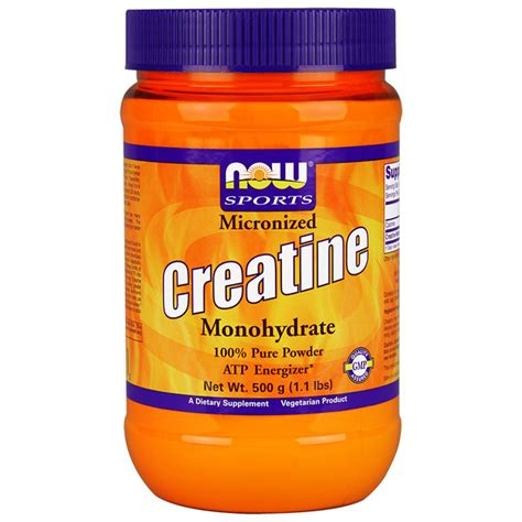creatine 3 days creatine monohydrate micronized 1 3 lbs now foods day