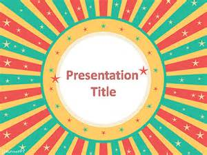 retro powerpoint template free festival powerpoint templates myfreeppt