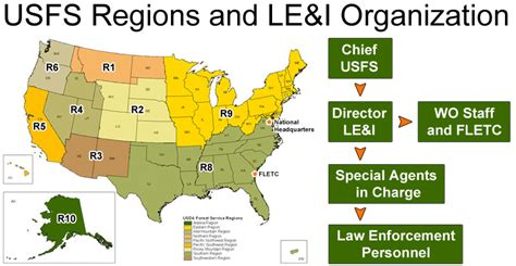 forest service region map organization what we do usda forest service
