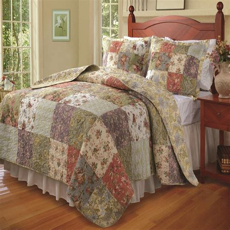 Country Quilt Bedding Sets Country Quilt Bedding Sets Sets Leaf Cal King Size Cotton Quilt Bedding Set