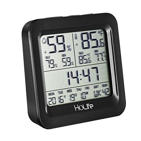 most comfortable indoor temperature holife hygrometer thermometer indoor digital temperature