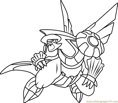Legendary Coloring Pages Palkia by Palkia Coloring Page Free Pok 233 Mon Coloring Pages