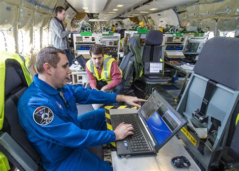 Manufacturing Test Engineer by Nasa Tests Software That May Help Increase Flight Efficiency Decrease Aircraft Noise
