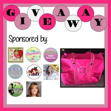 Teacher Giveaways - thirty one teacher s bag giveaway