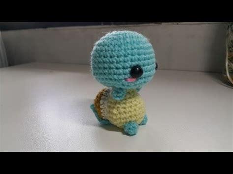 amigurumi squirtle pattern amigurumi crochet squirtle tutorial youtube
