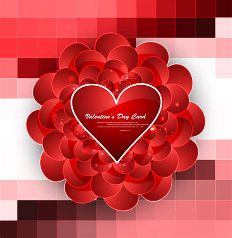 adobe illustrator s day card template greeting card valentines day hearts colorful background