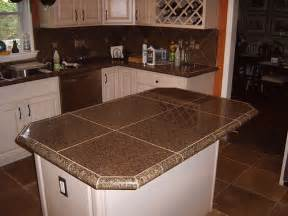 Granite Tile Kitchen Countertops Kitchen Remodel With Granite Tile Countertops And