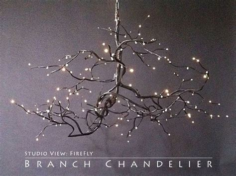 enchanted forest fiber optic christmas trees twig chandelier lighting gardens copper and copper wire