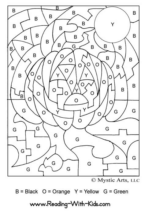 halloween coloring pages by number free coloring pages