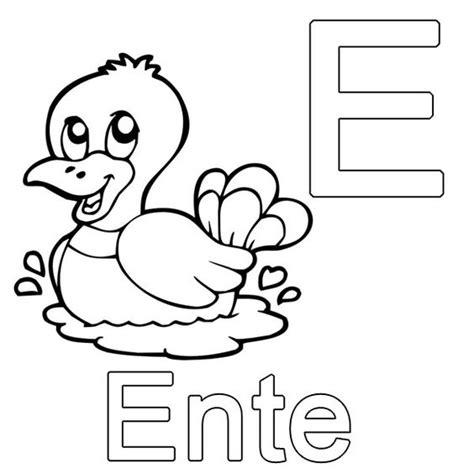Kostenlose Vorlage Buchstaben Ausmalbild Buchstaben Lernen Kostenlose Malvorlage E Wie Ente Kostenlos Ausdrucken Abc