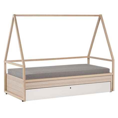 Bed Trundle Drawer by Spot Tipi Bed And Trolley With Trundle Drawer By