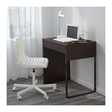 ikea micke desk micke desk black brown 73x50 cm ikea