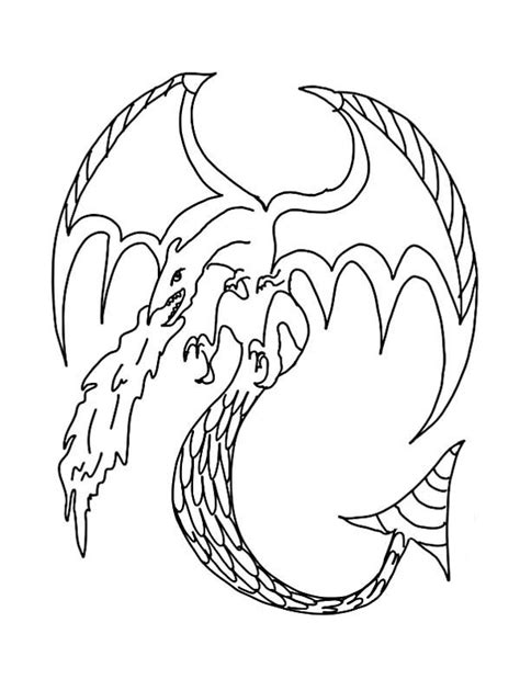 fire dragon coloring pages diannedonnelly com