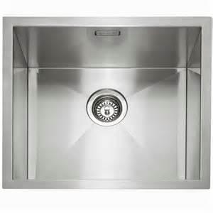 kitchen sinks uk caple zero45 stainless steel sink kitchen sinks taps