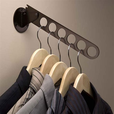 wall hangers for clothes wall mount hanger valet rubbed bronze in hanger valets
