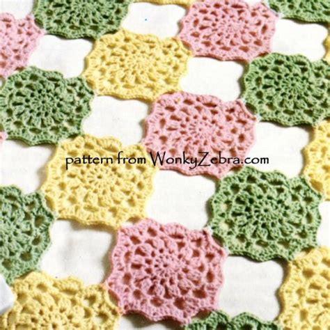 wonkyzebra wzb baby blanket  bedspread  crochet
