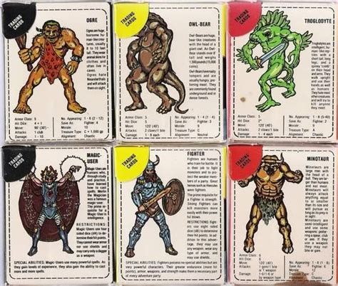 Dungeon Dragons Adventure System Large Villain Card Template by Confessions Of A Grognard Iii My Sweet Tooth Dyson S