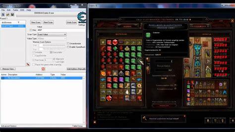 diablo 3 reaper of trainer diablo 3 mit cheat engine youtube