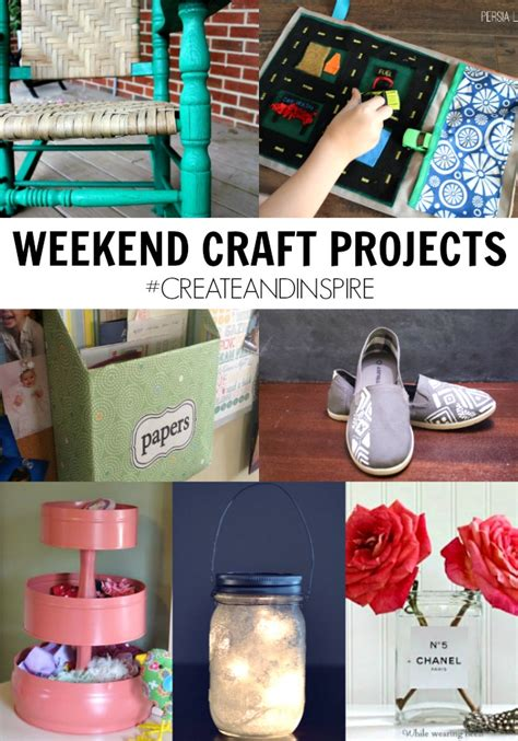 weekend craft projects create inspire 8 3 weekend craft projects