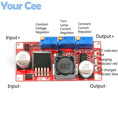 S R Step Powersupply Lm2596 lm2596 dc dc step cc cv power supply module led driver battery charger adjustable lm2596s
