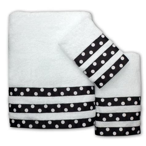 polka dot bathroom sets 51 best images about embellished towels on pinterest