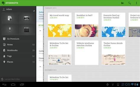 evernote android evernote updates android app with improved note editing and external keyboard support