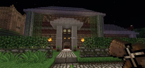 minecraft country house country house creation 739