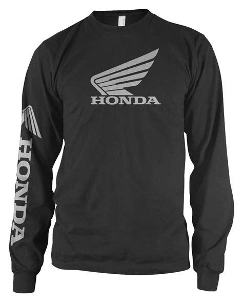 honda tshirts honda wing l s t shirt 10 4 00 revzilla