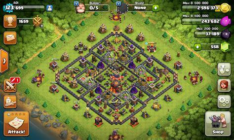 download game coc mod yang bisa war base th 10 game coc yang tidak ada infernonya supaya war
