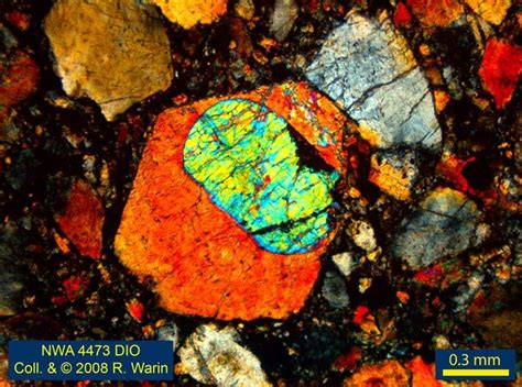 hypersthene in thin section fmf friends of minerals forum discussion and message