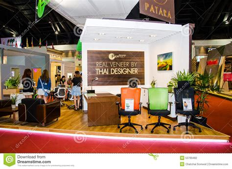 booth design thailand architect 2015 editorial photography image 53769482